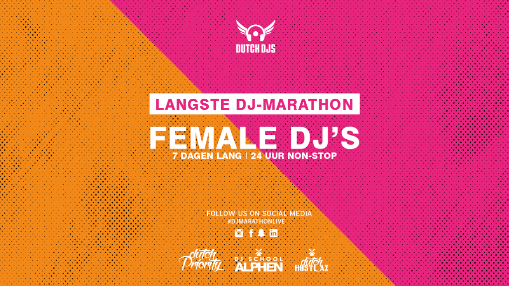 Female DJ-marathon