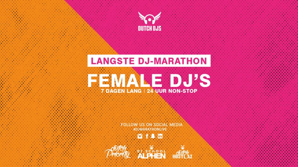 Female DJ-marathon
