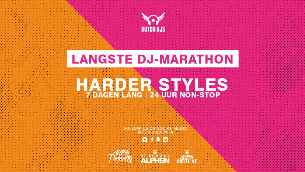 Harder Styles DJ-marathon
